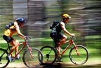 biking in keystone in summer