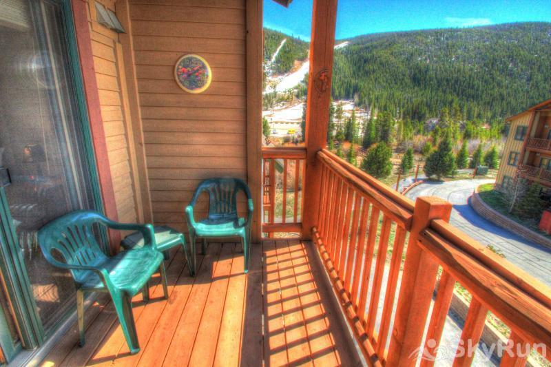 2640 Tenderfoot Lodge Private Balcony