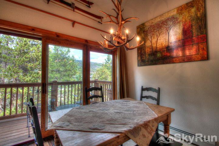 1841 Seasons Townhomes Dining Area & Private Deck