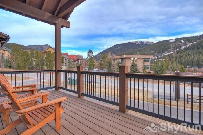39 River Run Townhomes Back Deck